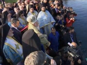 Ceremonia de 'Bendición de las aguas'
