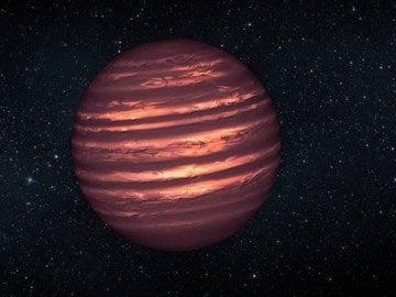 Una misteriosa enana marrón, prioridad para el telescopio James Webb