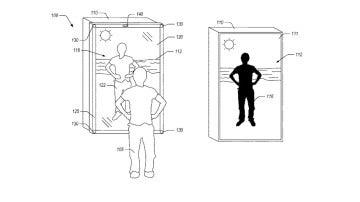Espejo que registra para una patente Amazon
