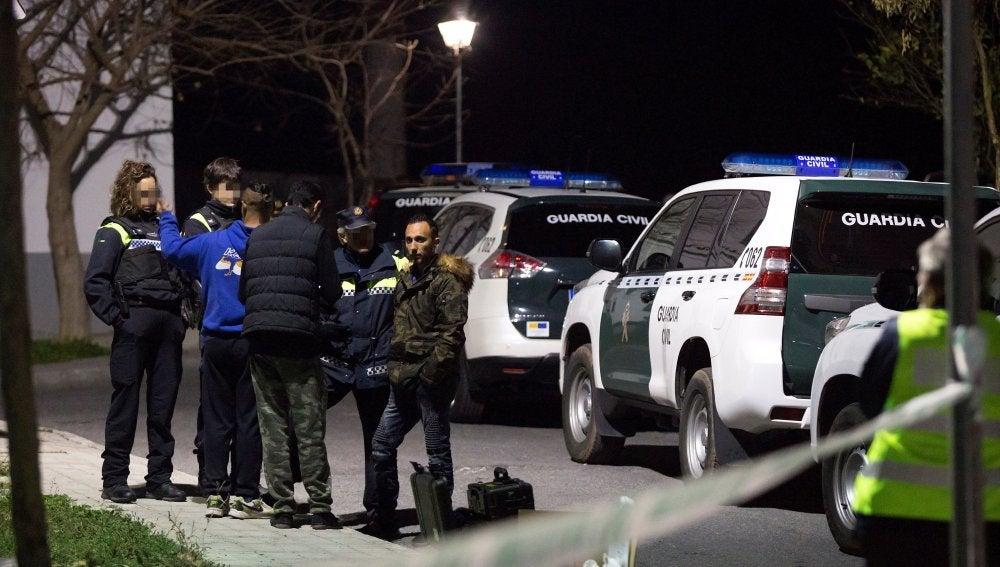 La Guardia Civil controla la zona para evitar más peleas tras reyerta en Coín