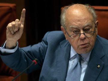 Jordi Pujol en el Parlament en una imagen de archivo