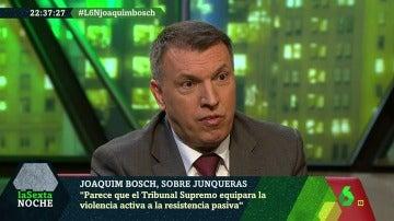 El magistrado Joaquim Bosch