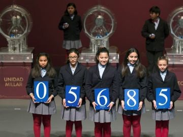 Número de El Gordo de la Lotería de El Niño