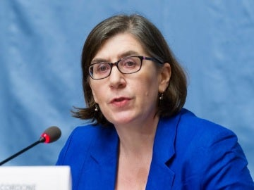La portavoz de la ONU Liz Throssell