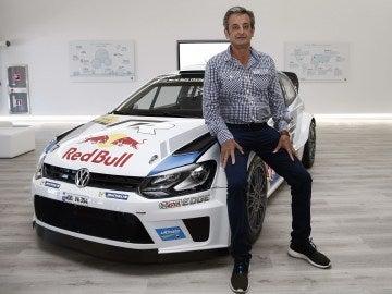 Luis Moya, excopiloto de rallys (Archivo)