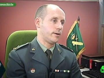 José Ángel Corral, capitán de la Guardia Civil de A Coruña