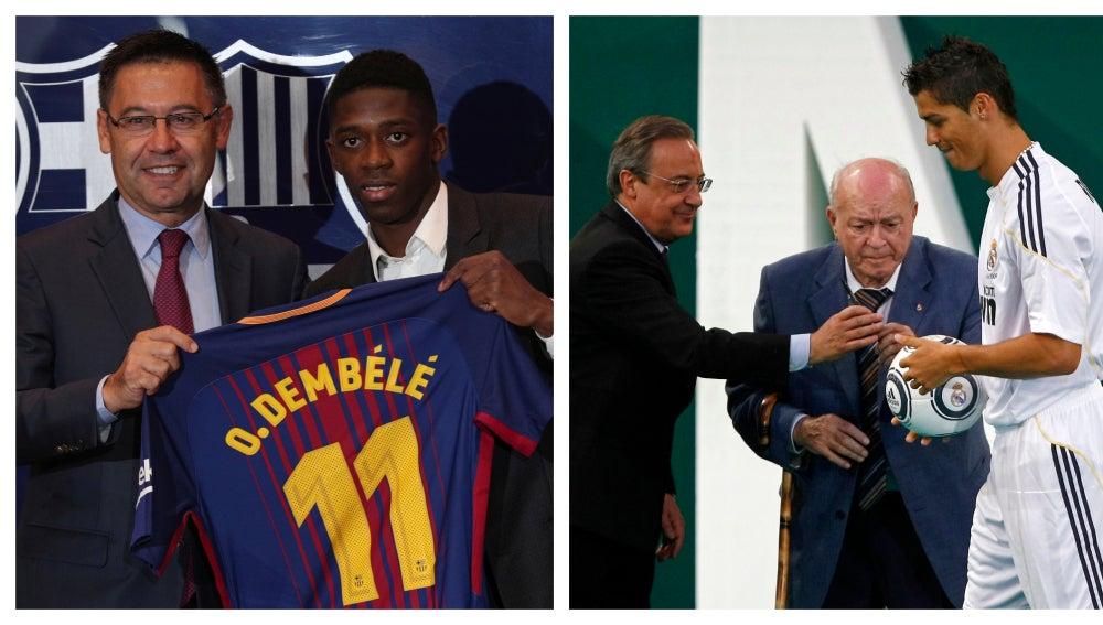 El Barcelona supera el gasto en fichajes del Real Madrid