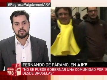 Fernando de Páramo, en Al Rojo Vivo
