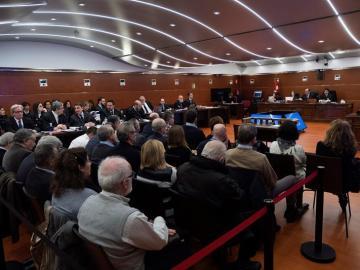Vista de la Audiencia Provincial de Álava