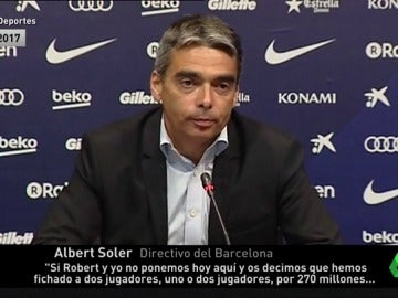La hemeroteca contradice al Barcelona