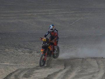 San Sunderland, en el Dakar 2018