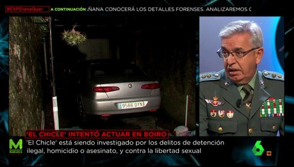 Imagen del vehículo de 'El Chicle' registrado por la Guardia Civil