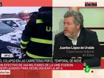López de Uralde, en Al Rojo Vivo