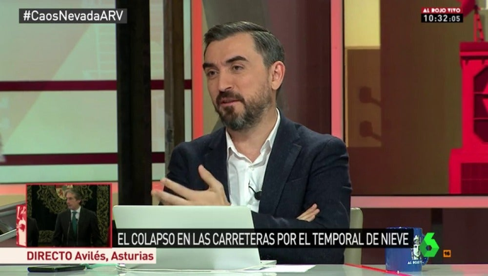 Ignacio Esocolar, en Al Rojo Vivo