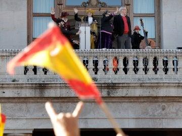 Desfile de las Reinas Magas en Valencia