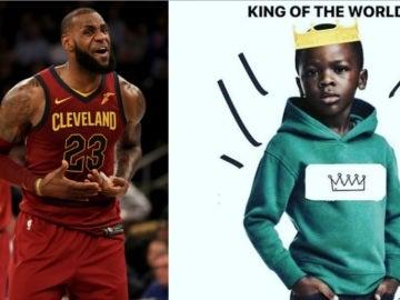 LeBron James, contra la campaña de H&M