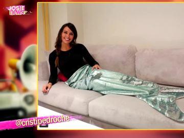 El último posado de Cristina Pedroche convertida en una auténtica sirenita