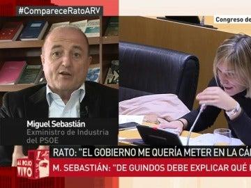 Miguel Sebastián en Al Rojo Vivo