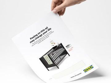 El anuncio de Ikea que incorpora un test de embarazo