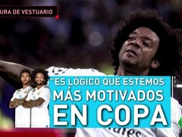 """La respuesta de los capitanes a Zidane: """"Es lógico que estemos más tivos en Copa y Champions"""""""