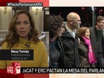 Neus Tomás, en Al Rojo Vivo