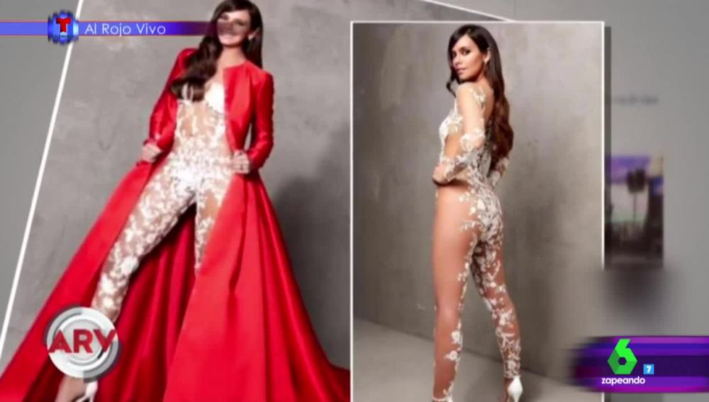 El vestido de las Campanadas de Cristina Pedroche traspasa fronteras