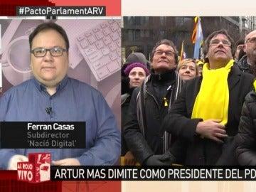 Ferran Casas, en Al Rojo Vivo