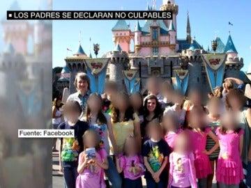 El matrimonio de la casa de los horrores de California se enfrenta a 38 cargos de torturas