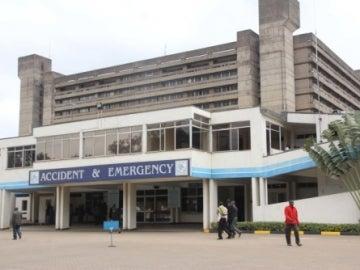 El hospital Kenyatta National en Nairobi