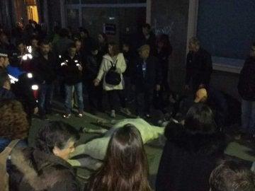 Un caballo muere en la cabalgata de Reyes en Terrasa