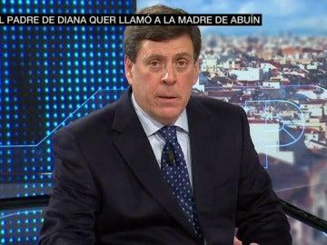 Juan Carlos Quer, padre de Diana