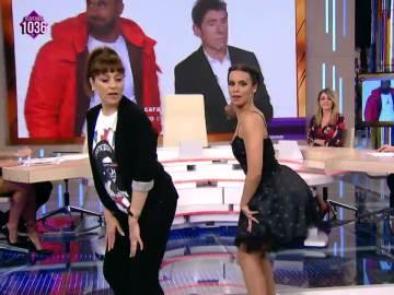 El twerking de Pepa Aniorte y Cristina Pedroche