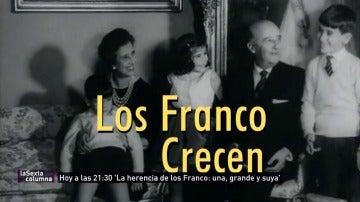 Carmencita, Merry, Cristóbal... o cómo encajar a la familia Franco en la cabecera de 'Los problemas crecen'