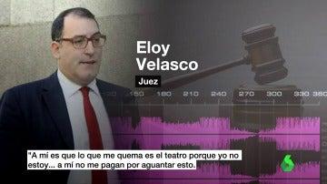 El juez Eloy Velasco