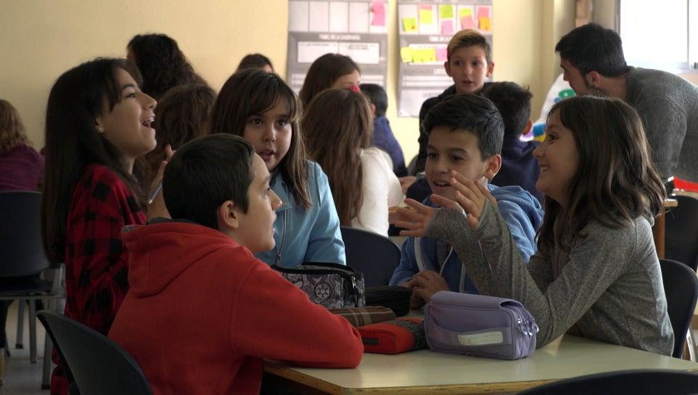 Alumnos del CEIP Lope de Vega, Fuenlabrada