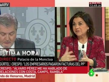 Lucía Méndez, en Al Rojo Vivo