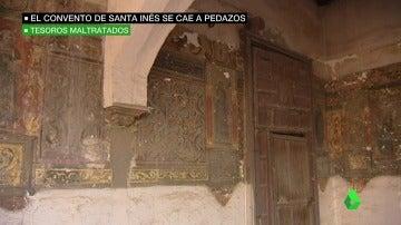 Los frescos de finales del siglo XVI del convento de Santa Inés