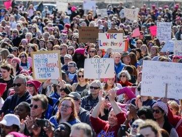 Marcha de las mujeres en Nueva York