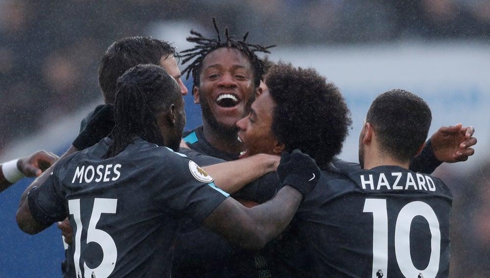 Chelsea celebrando un gol