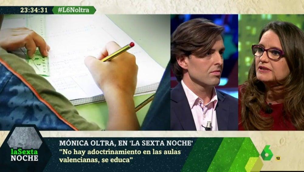 Mónica Oltra, en laSexta Noche
