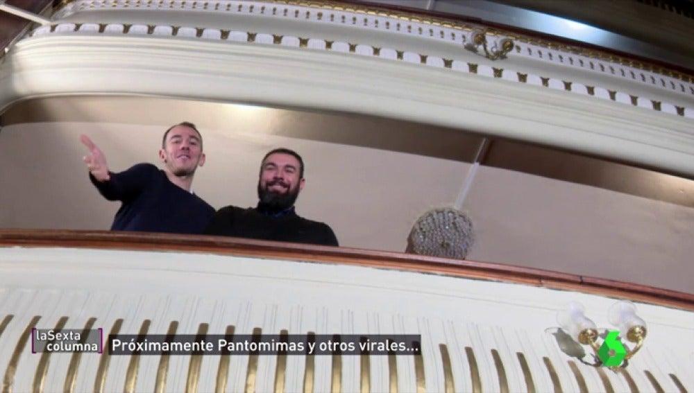 Alberto Casado y Rober Bodegas próximamente en laSexta Columna