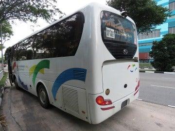 Foto de archivo de un autobús