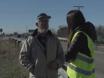 Manuel, testigo del atropello mortal en Fuente el Saz