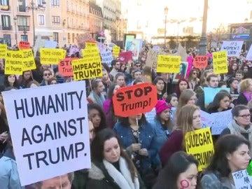 España se une a la 'Marcha de las Mujeres'