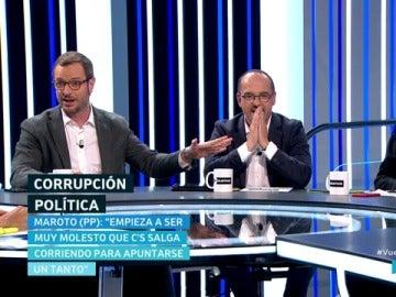 Javier Maroto, Carles Campuzano y Juan Carlos Girauta