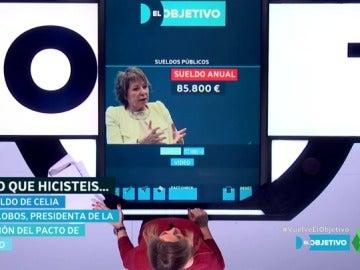 El sueldo de Celia Villalobos