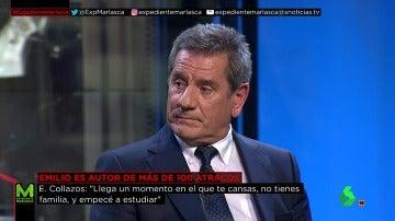 Emilio Collazos, de ladrón a abogado