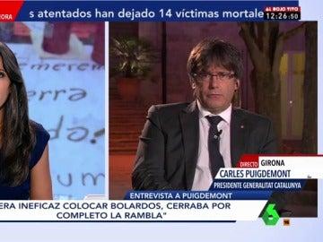 Carles Puigdemont en El Objetivo
