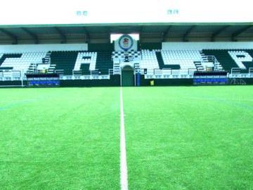 El estadio del Calpe CF