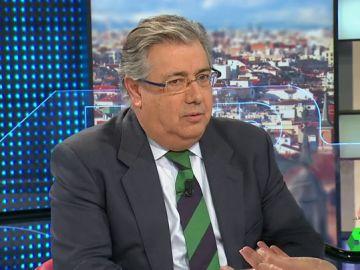 El ministro Zoido en Antena 3